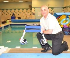 invention helps cerebral palsy patients in pool
