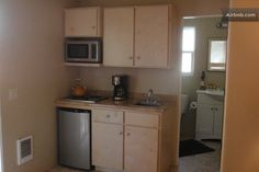 kitchenette - with no stove top