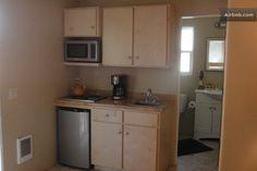 Kitchen Wet Bar Microwave Sink Mini Fridge Wine Rack