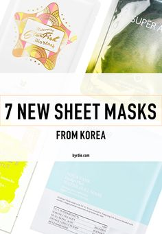 Best Korean sheet masks to try now