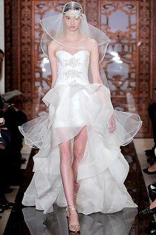 Reem Acra   Martha Stewart Weddings