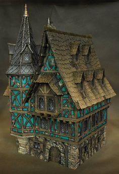 Mansion by Richard Gray (https://www.facebook.com/richardgraycreations/photos)