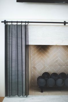 Vermillion Way | Fireplace Screen