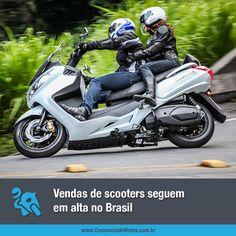 Conhecidos por serem ágeis, práticos e bonitos, os scooters conquistam cada vez mais espaço no mercado. Veja na matéria: https://www.consorciodemotos.com.br/noticias/vendas-de-scooters-seguem-em-alta-no-brasil?idcampanha=288&utm_source=Pinterest&utm_medium=Perfil&utm_campaign=redessociais