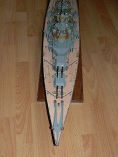 Scale Model Ships, Scale Models, Bismarck Model, Color, Colour, Scale Model, Colors