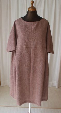 道行コートからワンピース作りました Kimono Coat, Yukata, Curvy, High Neck Dress, Tunic, One Piece, Summer Dresses, Blouse, Skirts