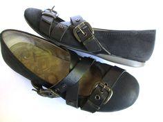 OTBT Park Hills women shoes s size 8.5 M Black Leather #OTBT #BalletFlats #Casual
