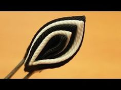"▶ Базовые лепестки Канзаши #36 ""Лепесток один из пяти"" / Kanzashi - YouTube"