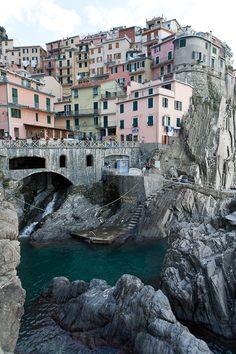 Another view of Cinque Terre, Province of La Spezia , Liguria region Italy