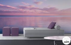 Amazing view on wall in PANTONE 2016 colors - by PIXERS #wallmural #walldecor #twilight