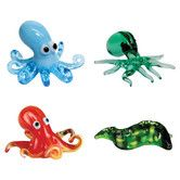 Found it at Wayfair - 4 Piece Miniature Oswald Octopus, 8-Ball Octopus, Octavius Octopus, Murray MorayEel Figurine Set