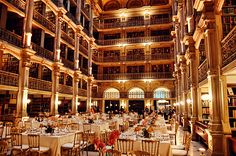 George Peabody Library Event with Ben Sherman Classical Guitar - there is nothing more I want than to have my reception in this location