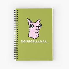 """No"" Spiral Notebook by HeroNurse Notebook Design, Cute Designs, Spiral, Fashion Accessories, Poster, Women, Billboard, Woman"