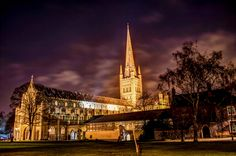Norwich Cathedral taken with the Nikon D3200