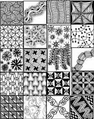 Image result for zentangle patterns