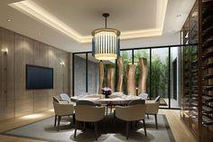 Me encanta este elegante comedor | I love this cool and elegant  diningroom