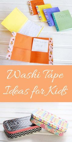 Fun Washi Tape Ideas for Kids!
