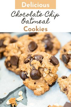 Easy to make, bake or no bake! Warm oatmeal and sweet chocolate combine for the ultimate fall dessert! Best Chocolate Desserts, Chocolate Morsels, Mini Chocolate Chips, Delicious Chocolate, Oatmeal Cookie Recipes, Oatmeal Chocolate Chip Cookies, Best Cookie Recipes, Sweet Recipes, Easy Summer Desserts