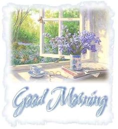 Good Morning quote flowers birds friend good morning greeting morning quote