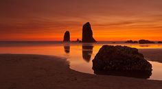 Cannon Beach sunset... Oregon