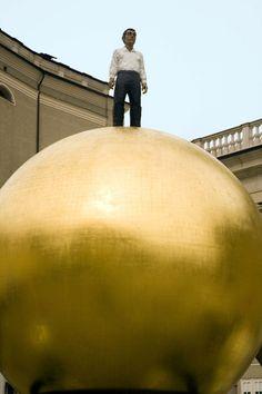 La bola dorada luce en Salzburgo desde el 2007