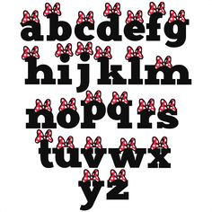 Polka Dot Bow Alphabet SVG scrapbook cut file cute clipart files for silhouette cricut pazzles free svgs free svg cuts cute cut files