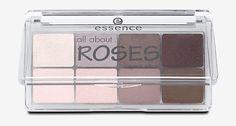 essence all about roses Lidschatten, pink, braun, weiss, Lidschatten im dm Onlineshop direkt bestellen.