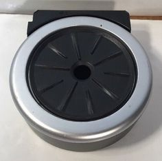 Keurig Coffee Maker v500  Replacement Part Black Drip Tray Silver Part #Keurig