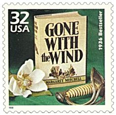 1998 32c Gone With the Wind-single - Catalog # 3185i For Sale at Mystic Stamp Company