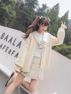 Cute Casual Outfits, Pretty Outfits, Girl Outfits, Fashion Outfits, Korean Girl Fashion, Japanese Fashion, Kawaii Fashion, Lolita Fashion, Kawaii Clothes