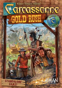 """the latest Carcassonne game - """"Gold Rush"""" - on my wish list for Christmas"""