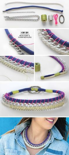 Top 10 Best Tutorials for DIY Necklaces