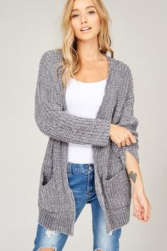New arrival! Chenille Knit Ope... Buy it here now http://www.rkcollections.com/products/chenille-knit-open-cardigan?utm_campaign=social_autopilot&utm_source=pin&utm_medium=pin