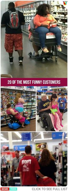 20 Funny Customers Who Made Shopping Amusing For Passers By - bemethis