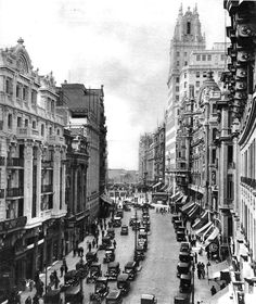 Red de San Luis - Madrid - 6 de Diciembre de 1930 - No estaba construido Callao ni el Edificio Carrión