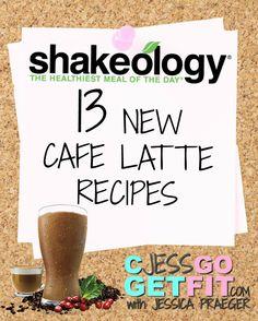Cafe Latte Shakeology Recipes – CJessGoGetFit – Jessica Praeger