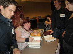 Cassandra Clare, author event.