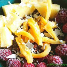 Pineapple jackfruit and frozen raspberries on overnight oats  happy weekend everyone!    Ananas Jackfrucht und gefrorene Himbeeren auf Haferflocken  Schönes Wochenende allerseits!   #vegansofgermany #swissvegan #potanana #eatgreen #eatlocalgrown #eatyourgreens #powerdedbyplants #plantbaseddiet #healthylunchideas #fitfoods #seasonalfood #eatseasonal #eatarainbow #gesunderezepte #abnehmen2017 #veganwerdenwaslosdigga #食べたい #healthylunch #healthyfoods #ランチタイム #vegetarianfood #frühstücksliebe…