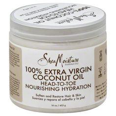 Shea Moisture COCONUT OIL Head-To-Toe Nourishing Hydration 16 oz