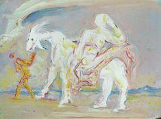 Woman on a Ram, 1981, Salvador Dali