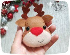 Christmas ornaments Penguin cute Christmas by MyMagicFelt on Etsy