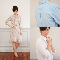Alex Shirt Dress sewing class | Sew Over It