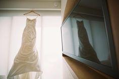 Gorgeous textured wedding dress - Anna Kim Photography