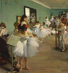 Edgar Degas - The Dance Class [1874]