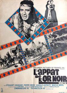 """Französisches Filmplakat. Französischer Titel: """"L´appat de l´or noir"""".  Größe: DIN A1"""