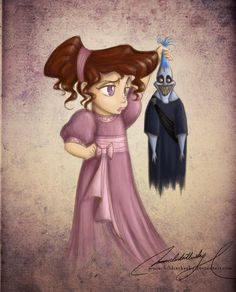 These are some of the most adorable little illustrations I have ever seen. I've come across a lot of Disney Fanart in the past, but I've never seen anybody draw the princesses as if they were child. Disney Fan Art, Disney Princess Art, Disney Love, Disney Magic, Baby Princess, Disney Artwork, Princess Belle, Disney E Dreamworks, Disney Pixar