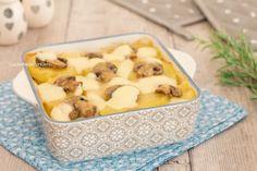 sformato di patate e funghi intero