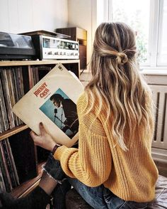 Vicki listens to any music, but she loves putting on records she and her dad can sing away to together