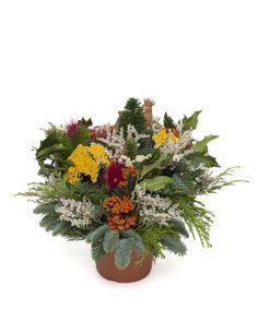Flower Arrangements, Christmas Decorations, Gardening, Flowers, Plants, Baskets, Centerpieces, Dekoration, Floral Arrangements
