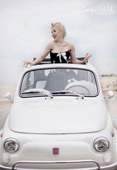 By Italian photographer Zonzo Web - Handmade WEB - Roxy Rose Burlesque performereBu Dress: Atelier Priori